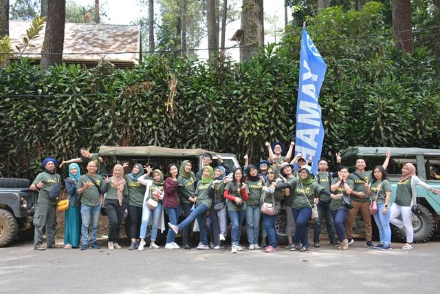 Paket Tempat Wisata Outbound Terpavorit di Bandung Untuk Employee Gathering