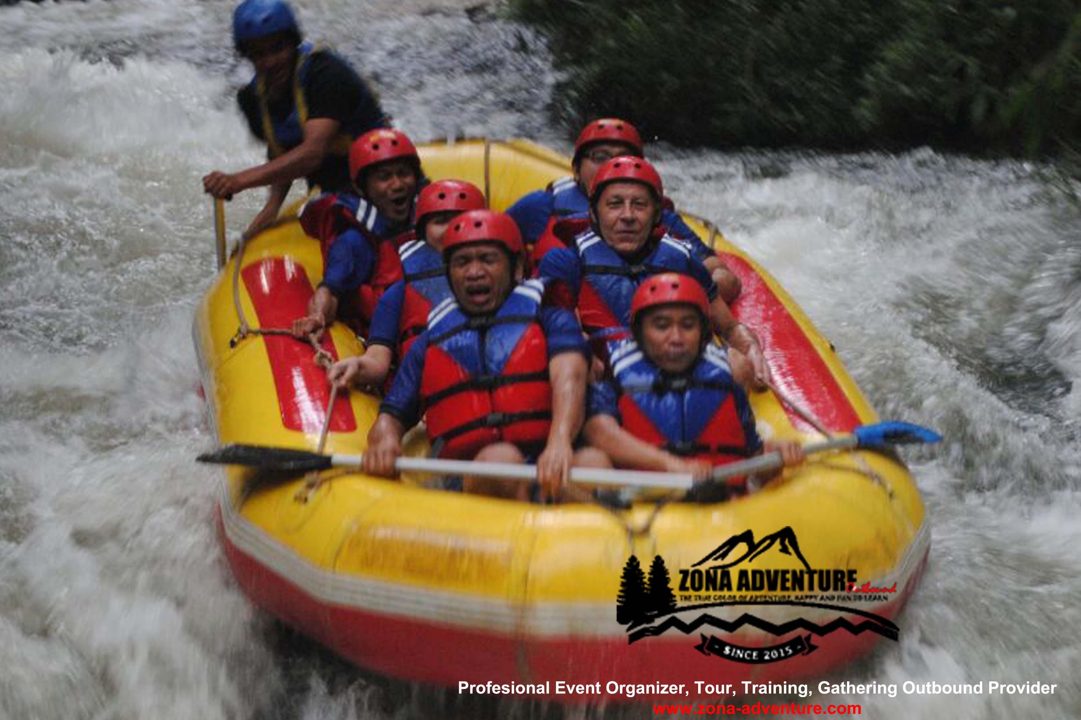 PAKET ARUNG JERAM - Rafting Lembang - Rafting Bandung